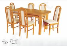 Stalas WENUS-P V + 6 kėdės PIANO