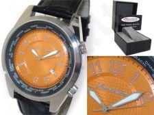 HEINRICHSSOHN Danzig Orange HS1003 vyriškas laikrodis