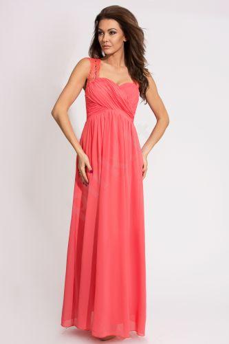 EVA&LOLA suknelė - arbūzinė 9711-3