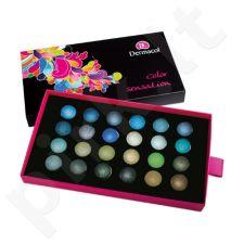Dermacol Palette Color Sensation Akių šešėlių paletė, kosmetika moterims, 12g, (VI)