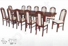 Stalas WENUS-P VII + 12 kėdžių PIANO