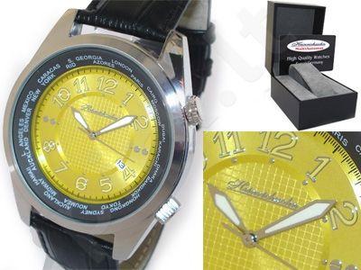 HEINRICHSSOHN Danzig Champagne HS1003 vyriškas laikrodis