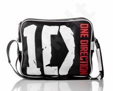SOLIER One Direction 2 juoda stilinga rankinė vyrams