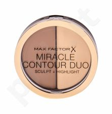 Max Factor Miracle Contour Duo, bronzantas moterims, 11g, (Light/Medium)