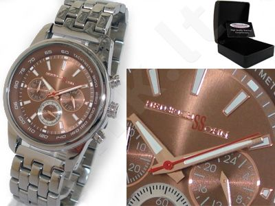 HEINRICHSSOHN Stockholm Copper HS1004 vyriškas laikrodis-chronometras