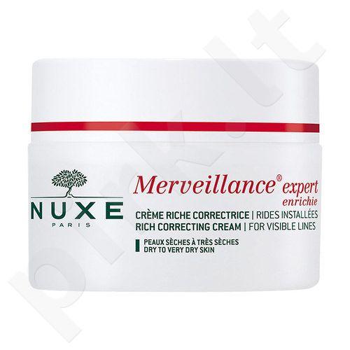 Nuxe Merveillance Visible Lines prabangus kremas, kosmetika moterims, 50ml