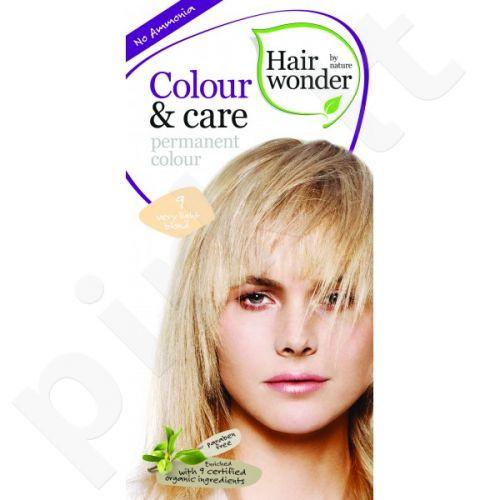 Colour & Care ilgalaikiai plaukų dažai be amoniako Very light blond
