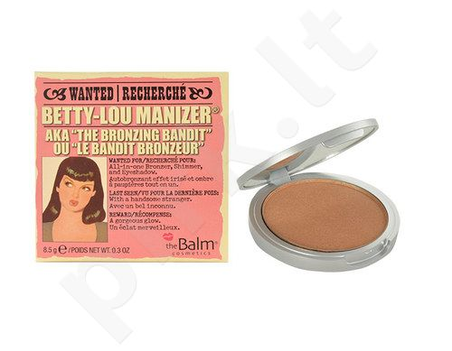 TheBalm Betty-Lou Manizer Bronzer & Shadow, kosmetika moterims, 8,5g