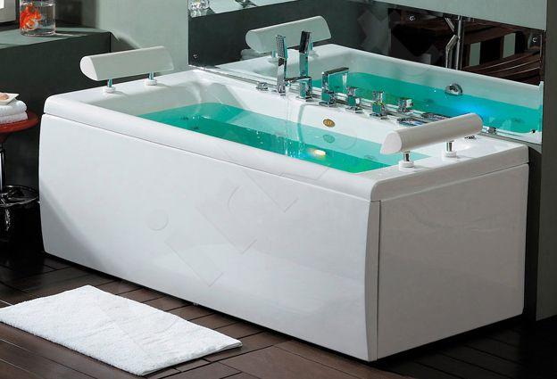 Masažinė vonia B1780-2 su oro ir hidromasažu 190cm