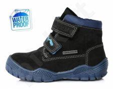 D.D. step juodi batai 24-29 d. f651912m