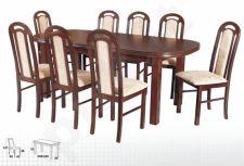Stalas WENUS-P VI + 8 kėdės PIANO