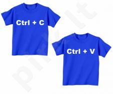 """Vaikiški marškinėliai dvynukams """"Copy - Paste"""""""