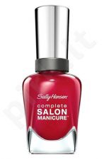 Sally Hansen Complete Salon nagų lakas, kosmetika moterims, 14,7ml, (530 Back to the Fucshia)