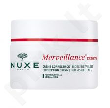 Nuxe Merveillance Visible Lines Correcting kremas, kosmetika moterims, 50ml