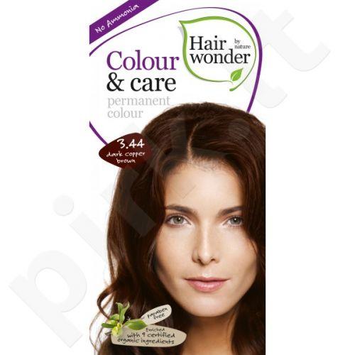 Colour & Care ilgalaikiai plaukų dažai be amoniako Dark copper brown