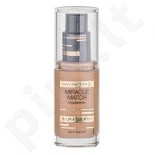 Max Factor Miracle Match, makiažo pagrindas moterims, 30ml, (77 Soft Honey)