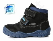 D.D. step juodi batai 30-35 d. f651912l