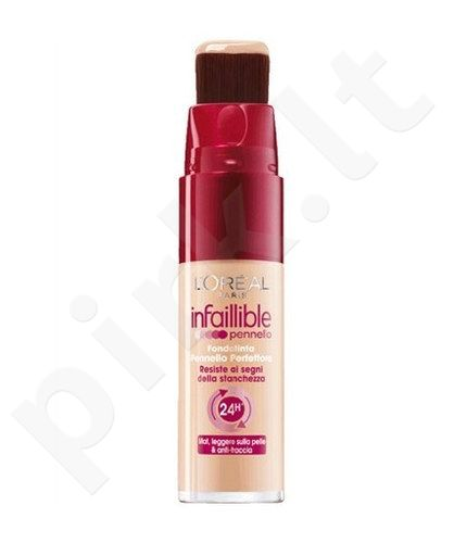 L´Oreal Paris Infallible Brush Foundation 24h, 25ml, kosmetika moterims  - 145 Rose Beige