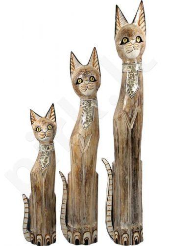 Medinė statulėlė Katinas 89706