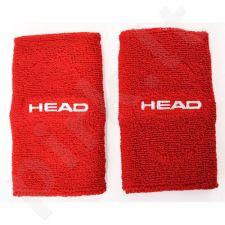 Riešinės Head New Wristband 5 2vnt raudona