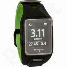 Laikrodis TomTom Runner 3 Large juodas