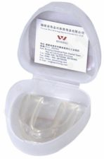 Dantų apsauga vienguba gelinė SENIOR balta