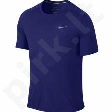 Marškinėliai bėgimui  Nike Dri-FIT Miler M 683527-455