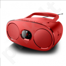 Muse RD306R Red, Portable radio CD player,
