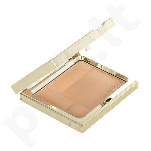 Clarins Ever Matte Shine Control Mineral pudra Compact, kosmetika moterims, 10g, (00 Transparent Opale)