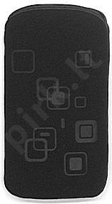 06 SQUARE universalus dėklas X6 Telemax juodas