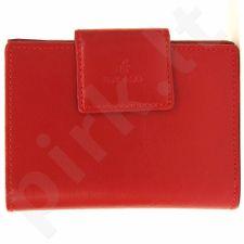 Piniginė odinė moteriška KRENIG Trendy 12013 raudona