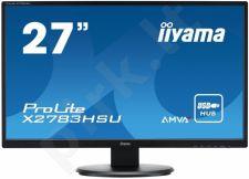 Monitor Iiyama Prolite X2783HSU 27'' LED FHD, AMVA+, DVI, HDMI, USB, Garsiakalbi