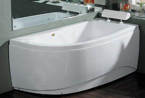 Akrilinė vonia B1680 dešininė 150cm