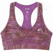 Sportinė liemenėlė  Adidas Padded Heather Print Techfit Bra W AY3146