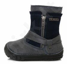 D.D. step tamsiai mėlyni batai su pašiltinimu 19-24 d. 029305u