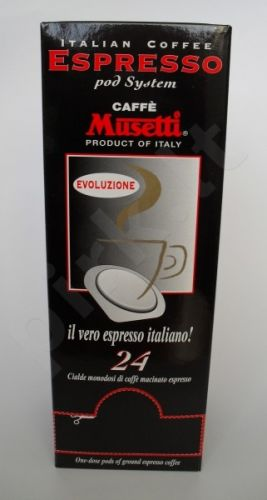 Musetti EVOLUZIONE 24 kavos tabletės