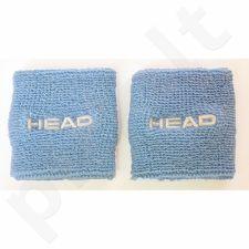Riešinės Head New Wristband 2,5 2vnt mėlynas