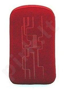 06 LINE universalus dėklas S5660 Telemax raudonas
