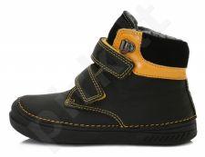 D.D. step juodi batai su pašiltinimu 25-30 d. 040423m