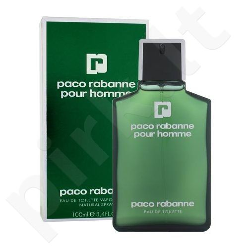 Paco Rabanne Pour Homme, tualetinis vanduo (EDT) vyrams, 100 ml
