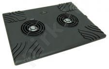 Aušinimo stovas Titanum TA102 15,4'-15,6', 2 ventiliat.