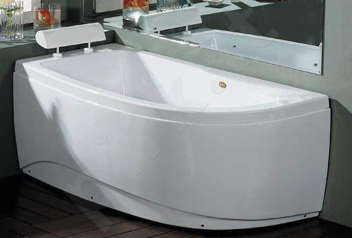 Akrilinė vonia B1680 kairinė 160cm