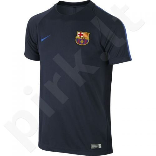 Marškinėliai Nike FC Barcelona Dry Squad Junior 810049-452