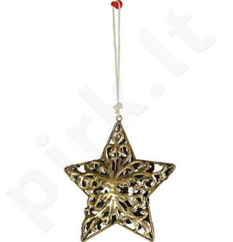 Metalinis dekoro elementas Žvaigždė 103712