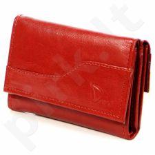 Piniginė odinė moteriška DAN-A P118 raudona