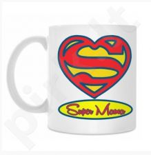 "Puodelis ""Super Mama"""