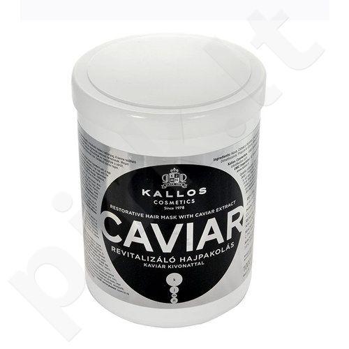 Kallos Caviar Restorative plaukų kaukė, kosmetika moterims, 1000ml