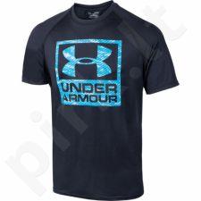 Marškinėliai treniruotėms Under Armour Boxed Logo Shortslevee M 1271720-002