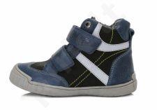 D.D. step tamsiai mėlyni batai su pašiltinimu 28-33 d. da061631a