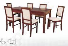 Stalas MODENA III + 6 kėdės NILO III